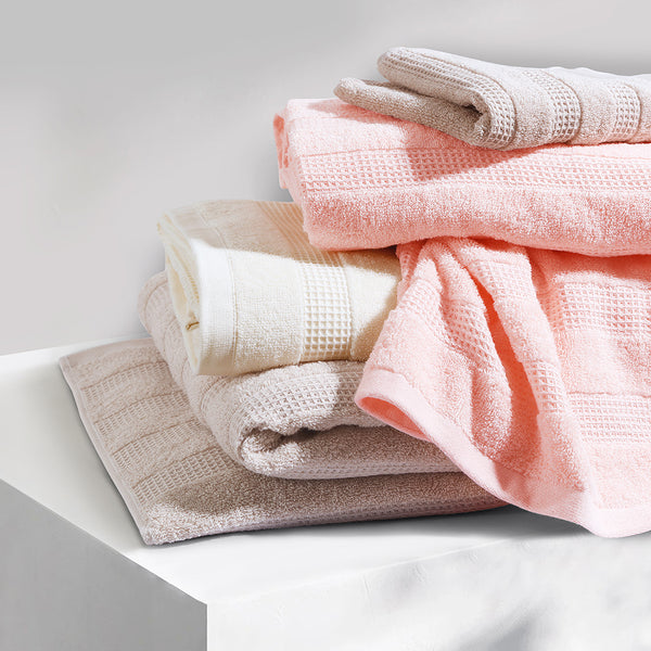 100 % Cotton Premium Towel - Pink