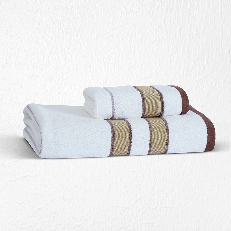 100 % Cotton Japanese Hot Spring Towel - Coffee