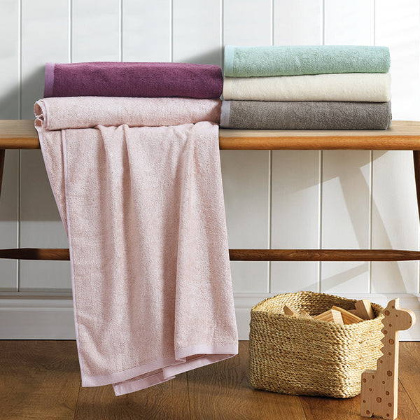 Bamboo - Cotton Premium Towel - Purple