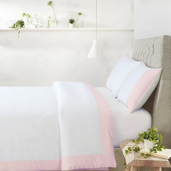 Botanic Cotton 550 Thread Count - Lakeside Pink