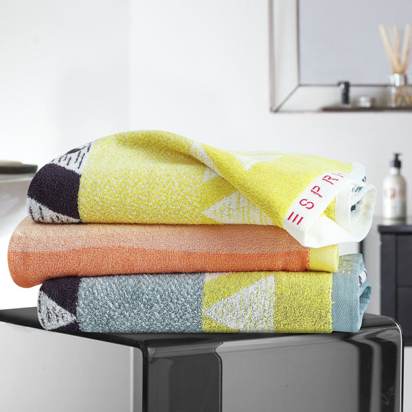 Esprit Bath Towel 70 Cm*140 Cm - Multicolor 100% Cotton 480 GSM
