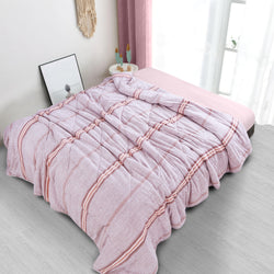 Countryside All Season Quilt - Pink