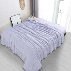 Countryside All Season Quilt - Lilac