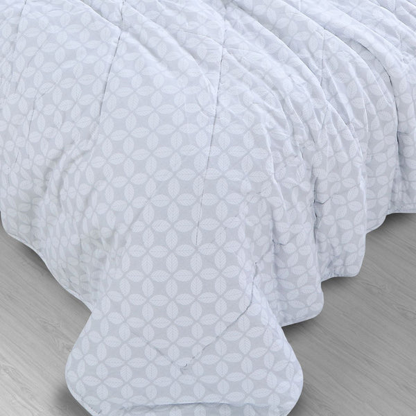 Countryside Summer AC Quilt - Petal Grey
