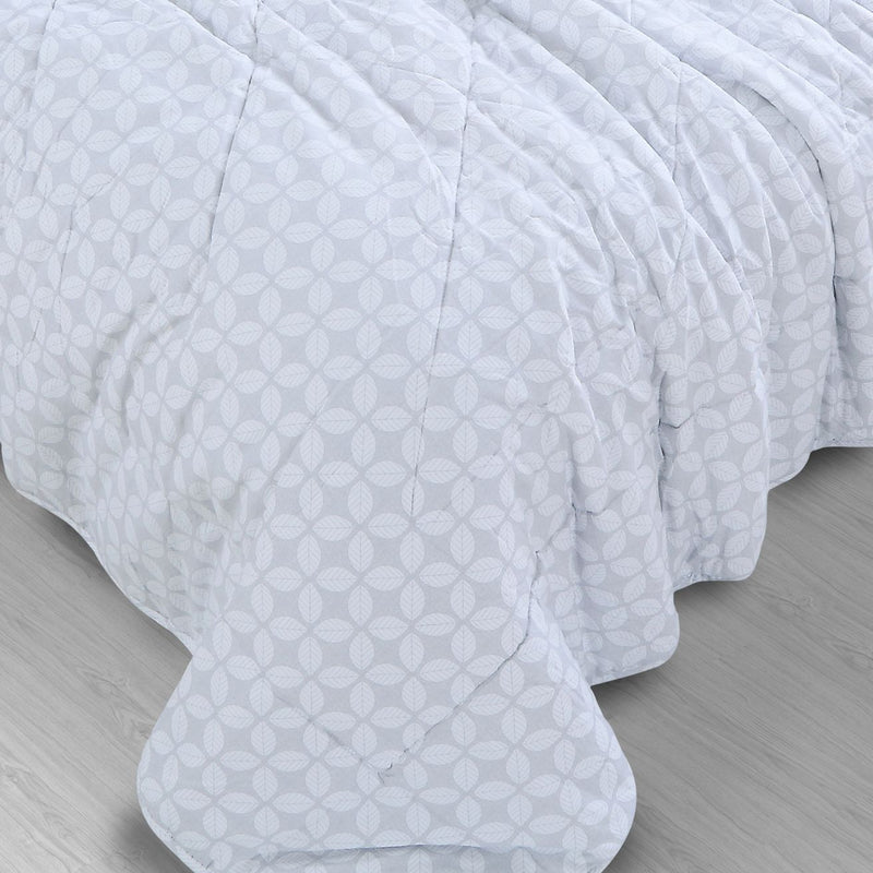 Countryside All Season Quilt - Petal Grey