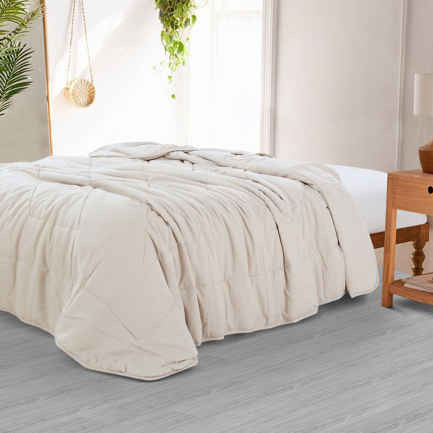 Countryside Summer AC Quilt - Beige
