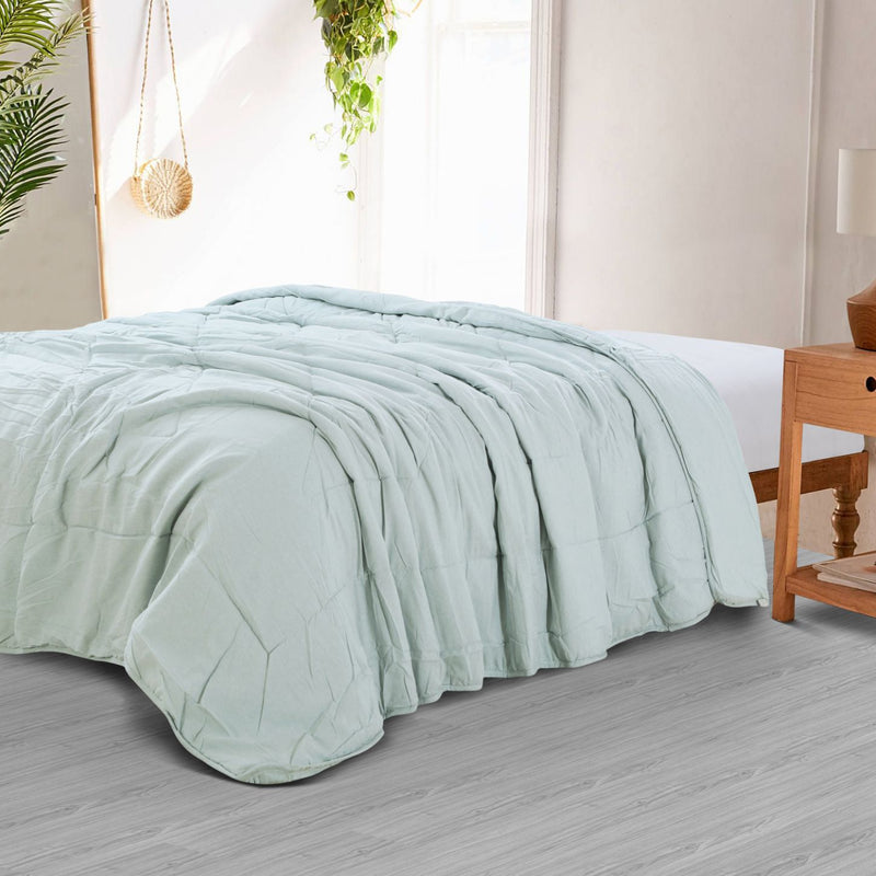 Countryside All Season Quilt - Green