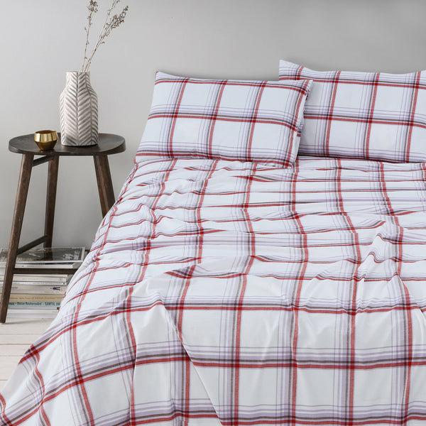 100 % Washed Cotton Breathable Bedsheet