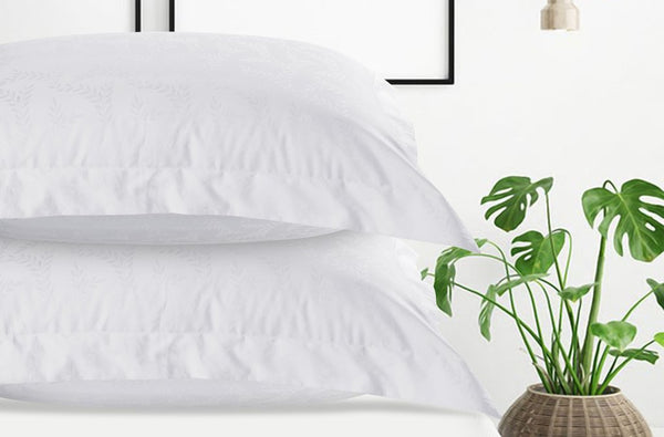 500 Thread Count Cotton - White Mimosa