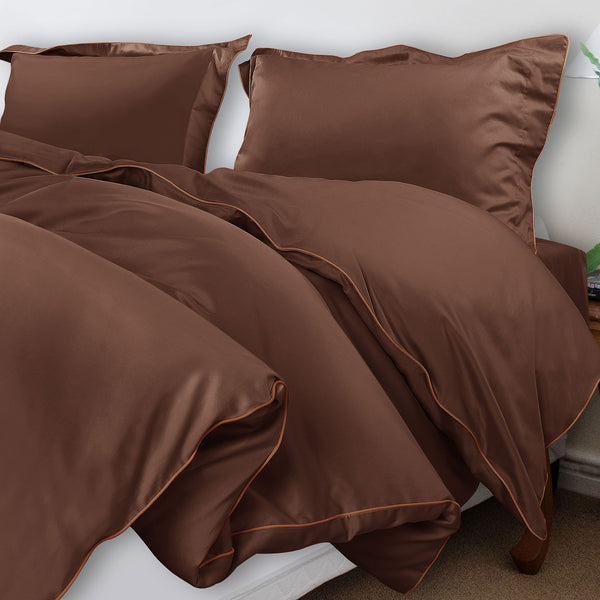 Grain De Glace 400 Thread Count  - Choco