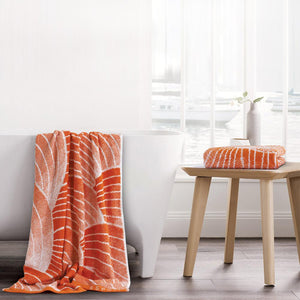 Esprit Bath Towel - Orange (100% Cotton 480 GSM)