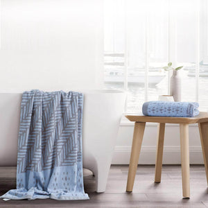 Esprit Bath Towel 75 Cm*150 Cm - Denim 100% Cotton 480 GSM