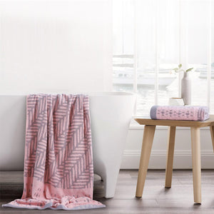 Esprit Bath Towel - Pink (100% Cotton 480 GSM)