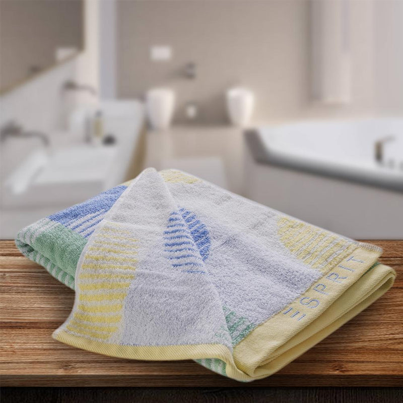 Esprit Bath Towel - Yellow 100% Cotton 480 GSM