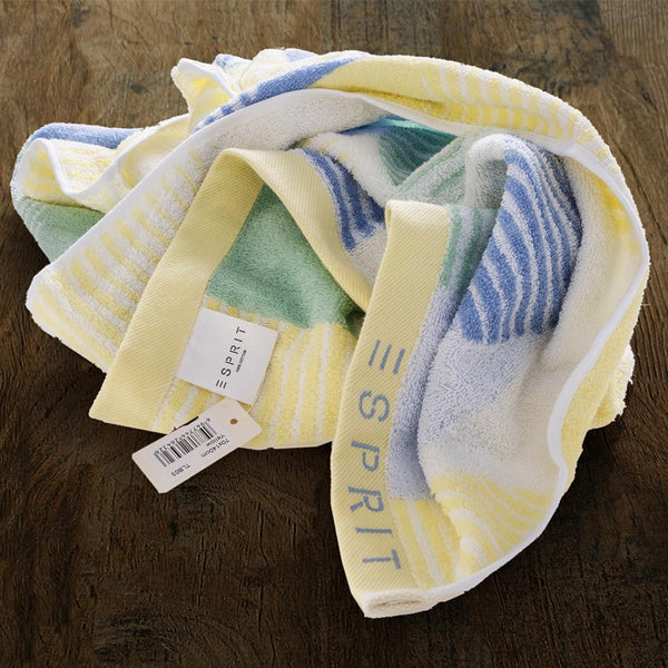 Esprit Bath Towel 70 Cm*140 Cm - Yellow 100% Cotton 480 GSM