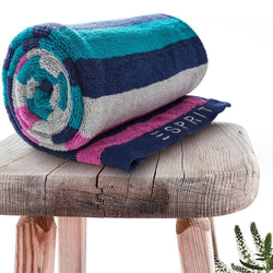 Esprit Bath Towel 70 Cm*140 Cm - Blue 100% Cotton 480 GSM