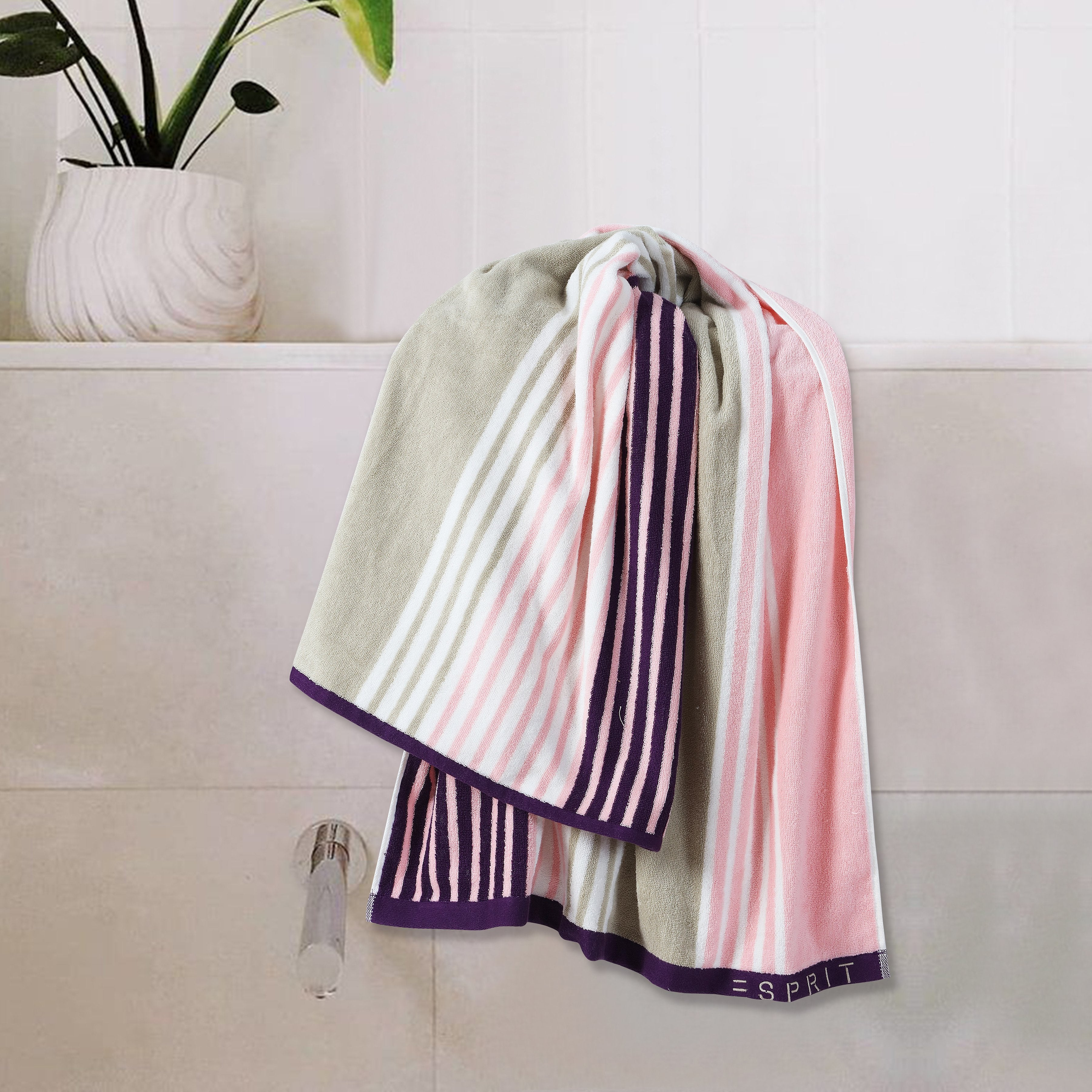 Esprit Towel -  Pink 100% Cotton 480 GSM