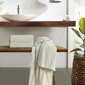 Coral Towel - Ivory 'High Absorbent & Super Soft'