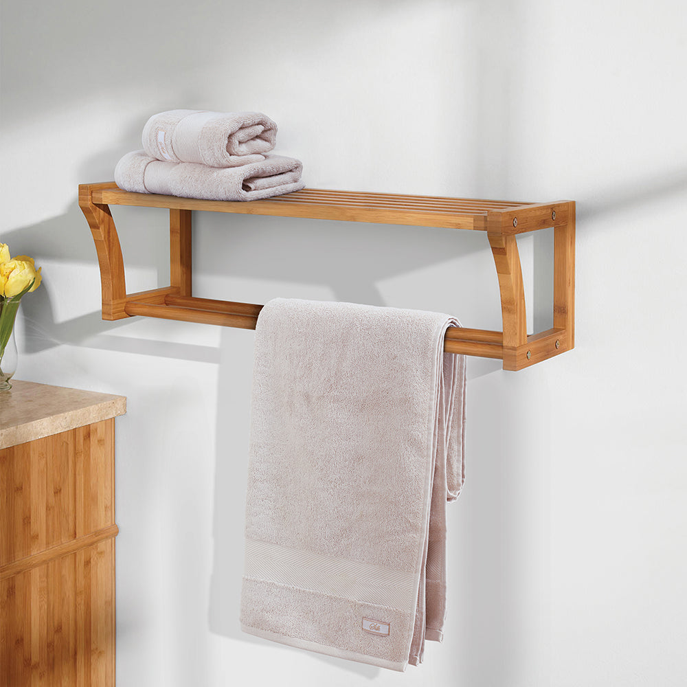 Silk Luxurious - Bath Towel Light Beige Made in Turkey