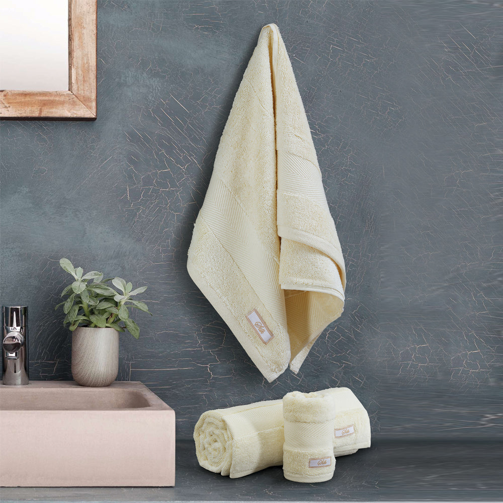 Silk Luxurious - Hand Towel Vannila Made in Turkey