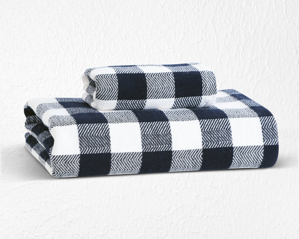 Japanese Bamboo Towel - Black