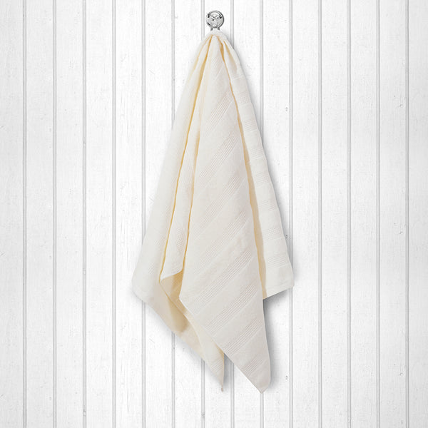 100 % Cotton Premium Towel - Cream