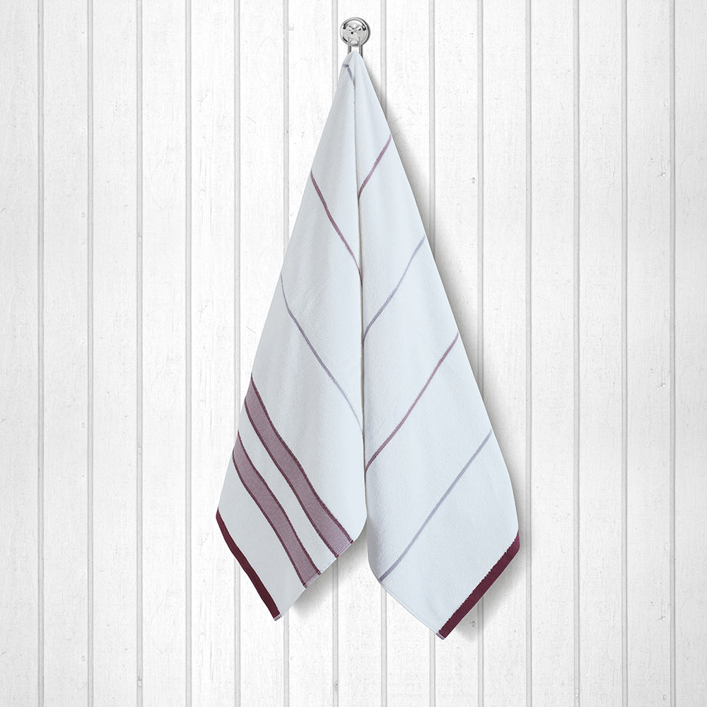 100 % Cotton Japanese Hot Spring Towel - Red
