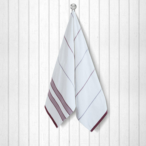 100 % Cotton Premium Towel - Red