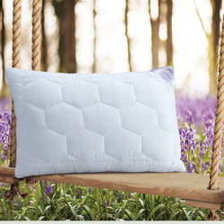 Lavender With Suede Fabric And Micro Fibre Inside Pillow