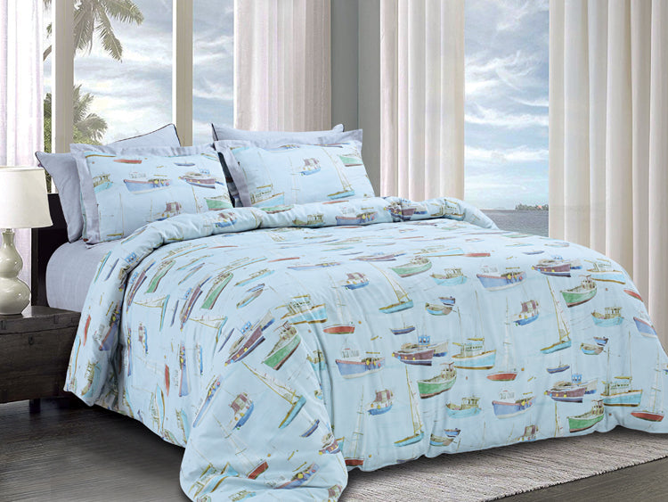 400 Thread Count Super King Size Bedsheet 2.84 mtr. x 2.74 mtr. with 2 Pillow Covers