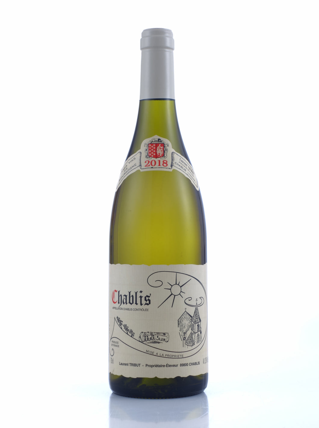 2018 Chablis, Laurent Tribut