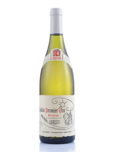 2018 Chablis Beauroy 1er Cru, Laurent Tribut