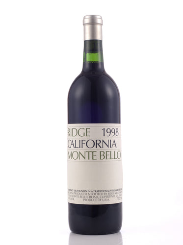 1998 Monte Bello, Ridge Vineyards