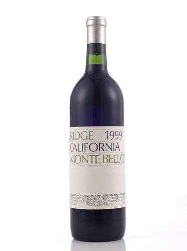 1999 Monte Bello, Ridge Vineyards