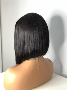 "Express Sew-In ""U-Part"" Bob Cut Wig"
