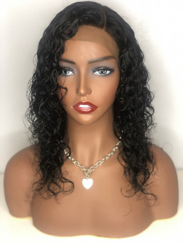 Lace Closure Wig-Indian Curly