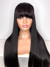 "Load image into Gallery viewer, 30"" Silk Closure Wig-Straight"