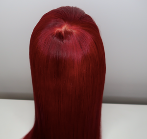 Silk Closure Wig-Straight