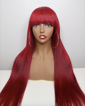Load image into Gallery viewer, Silk Closure Wig-Straight