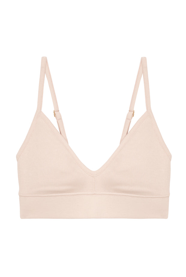 Brassière Coton BIO - Light Pink - Brassières - We Are Jolies