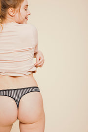 Tanga Coton BIO - Vichy Pirate Black
