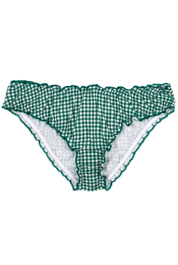 Bloomer Coton BIO - Vichy Evergreen