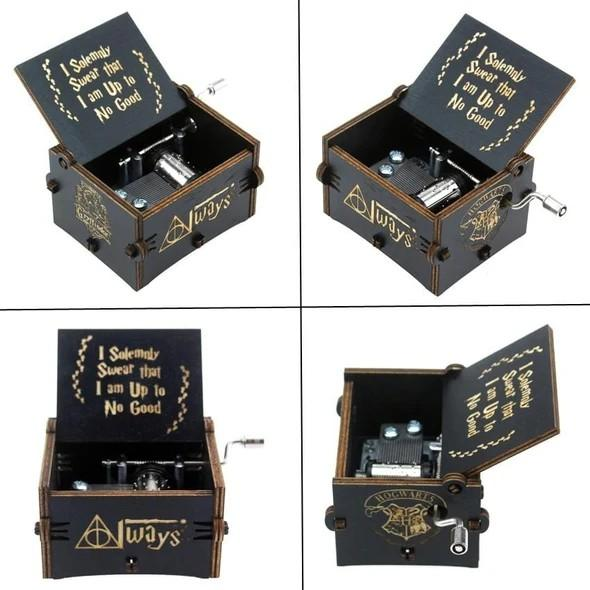 Harry Potter Hand Cranked Music Box