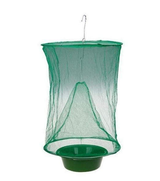Outdoor reusable fly catcher