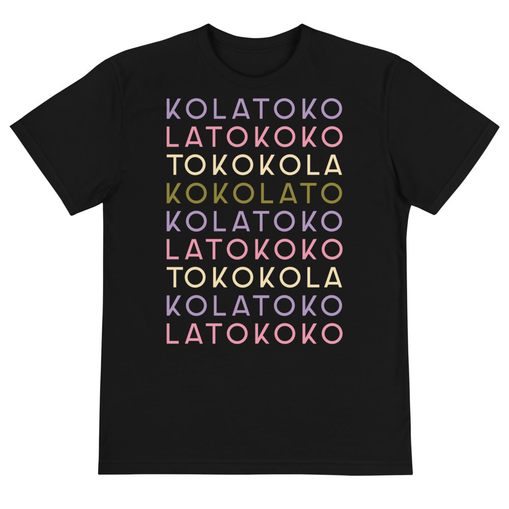 KOKOLATO eco-activist designer apparel, eco-fashion activist, vegan ice cream, Ice Cream Apparel, conscious world travelers, recycled fashion, Bali, Ubud, vegan ice cream, vegan, cruelty-free, fair trade, ethically sourced, unisex