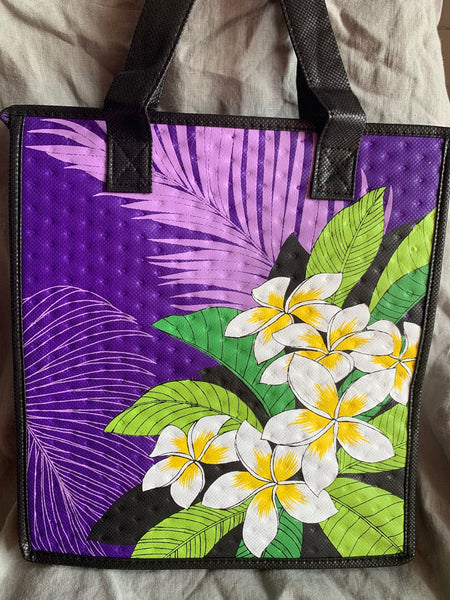 "Medium Reusable lunch bag  Ewa Purple ""New"""