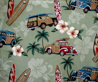 pillow cases | sham Surf themed North Shore Sage