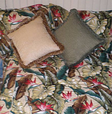 Comforter Tropical  Bedding Tropical Leaves Natural