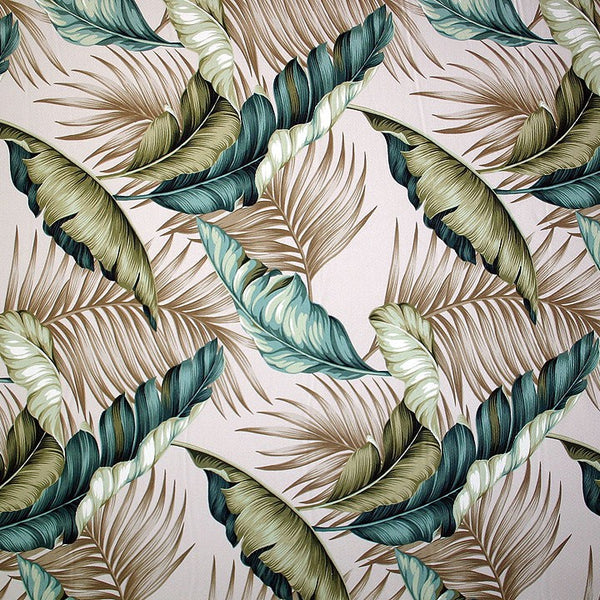 Valance Hawaiian Print Bahama breeze