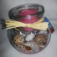 Seascape Candle Holders Pink